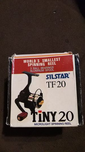 World's smallest fishing reel operates perfectly never been used old new stock for Sale in Hartford, CT