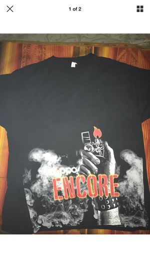 Zippo encore set the world on fire word tour tshirt for Sale in Pittsburgh, PA