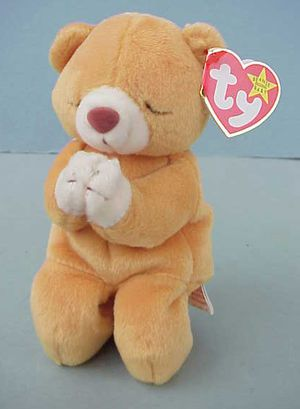 RARE 1998 TY HOPE Beanie Baby, Made In China, P.E. Pellets for Sale in West Warwick, RI