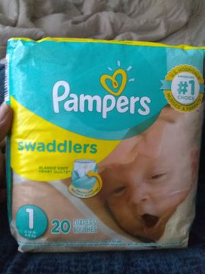 Pampers Size 1 for Sale in Cleveland, OH