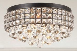Crystal Four-Light Flush Mount Fixture for Sale in West Miami, FL