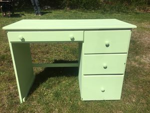 Newly Painted Seafoam Green Desk for Sale in Abington, MA