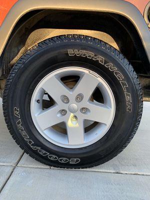Jeep JK stock wheels for Sale in Corona, CA
