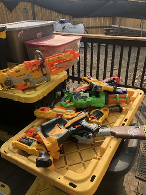 11 Nerf guns for Sale in Plymouth, CA