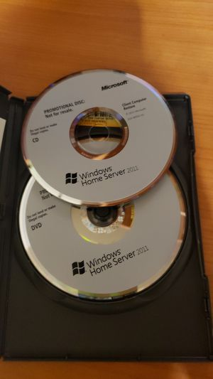 Microsoft Windows Home Server 2011 with Product Key 64bit for Sale in Everett, WA
