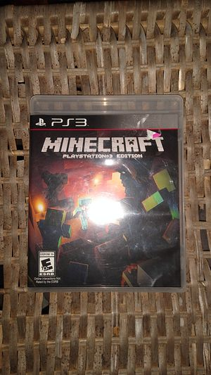 Minecraft PS3 for Sale in La Honda, CA