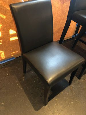 Table chairs. Great for restaurant or home. Less then a year old. Better deals for multiple chairs. for Sale in Seattle, WA