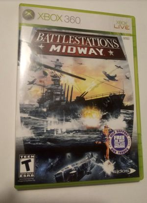 Battle stations midway Xbox 360 game for Sale in Tampa, FL