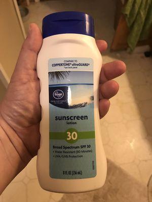Sunscreen new for Sale in Potter, KS