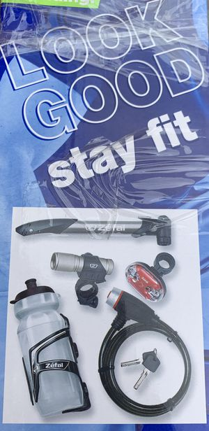 Brand new in the box! Zefal 6-Piece Bicycle Starter Pack for Sale in Alexandria, VA