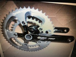 Oval road bike crankset for Sale in Las Vegas, NV