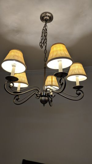 Brushed Metal Chandelier for Sale in High Point, NC