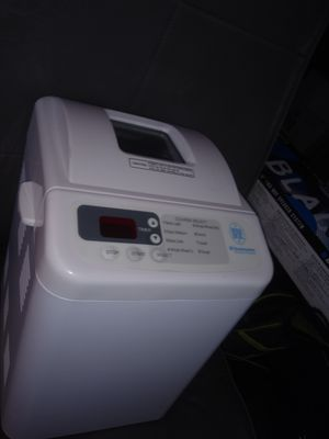 Like New Bread Maker by Toastmaster woerks & Looks Excellent make your own Fresh Bread for Sale in Lake Worth, FL