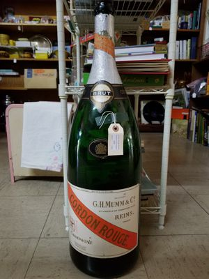 Oversize French Champagne Bottle (empty) for Sale in Mesa, AZ
