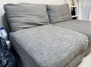 Gray Loveseat Chaise Chair Lounge Couch for Sale in Pasadena, CA