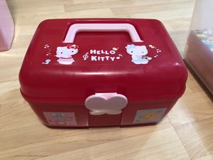 Hello Kitty box- brand new never used for Sale in San Jose, CA