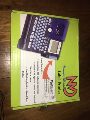 Stahls Hotronix x6-x6 with Label Printer for Sale in Washington, DC