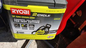 "BRAND NEW 38CC RYOBI 18"" CHAINSAW for Sale in Portland, OR"