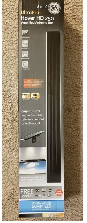 OEM GE 37075 Ultra Pro Hover HD250 TV Amplified Antenna 4K 1080p 50 Mile for Sale in Fort Myers, FL