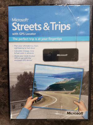 Microsoft Streets & Trips with GPS Locator 2011 for Sale in Sacramento, CA