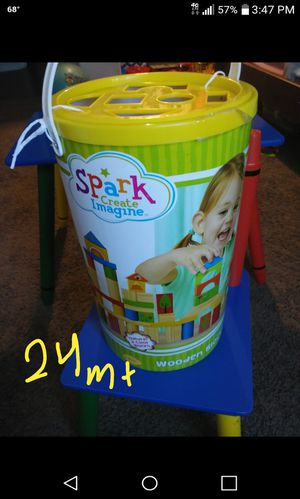 Kids building blocks and learning shapes for Sale in Glendale, AZ