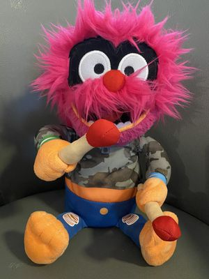 """Disney Jr Muppet Babies Rockin """"Animal"""" Plush Toy Stuffed Doll for Sale in North Fort Myers, FL"""
