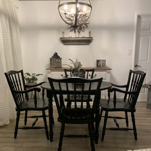 Refinished Table And Chairs for Sale in Lodi, CA