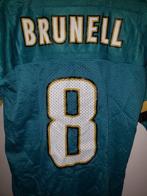 MARK BRUNELL NFL JACKSONVILLE JAGUARS STARTER JERSEY YOUTH MEDIUM for Sale in Alexandria, VA