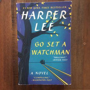 Harper Lee Go Set A Watchman Book novel for Sale in Sacramento, CA