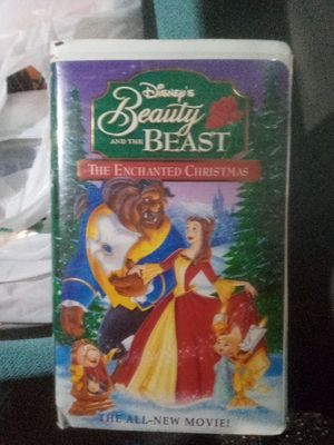 Beauty and the beast VHS for Sale in Spokane, WA