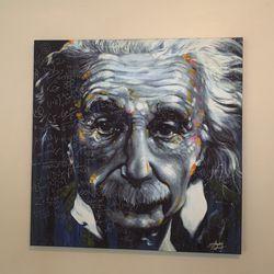 Einstein Canvas Print for Sale in Seattle,  WA