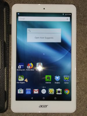 """Acer Iconia Tab 8"""" Tablet 16GB Android 5.0 - White (A1-860-19LU for Sale in Norco, CA"""