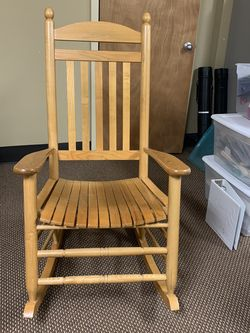 Solid Wood Rocking Chair (Indoor/Outdoor) for Sale in Mableton,  GA