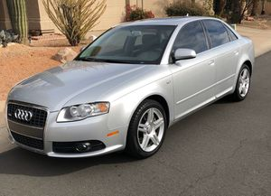 2008 Audi A4 2.0T, Silver, S-Line, Premium, Leather for Sale in Phoenix, AZ