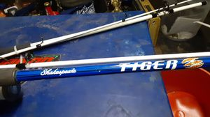 2 Brand-new new tiger Shakespeare fishing rods for Sale in Bloomington, CA