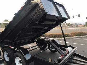 2019 Dump Trailer 8x10x2 for Sale in Rowland Heights,  CA