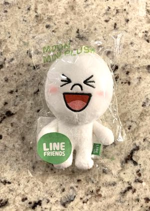 Line friend mini moon plushie plush from Korea for Sale in Silver Spring, MD