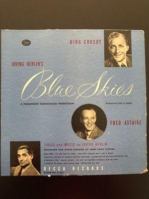 Vinyl Records - Blue Skies by Irving Berlin Original Movie Soundtrack for Sale in Bailey's Crossroads, VA