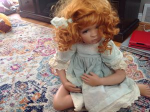 Porcelain doll for Sale in Clifton Heights, PA