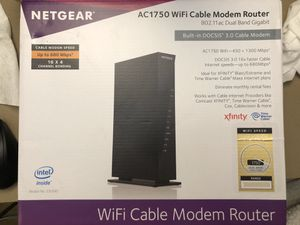 NETGEAR WiFi cable modem router for Sale in Irvine, CA
