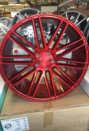 "20"" inch Element EL012 candy red wheels only for Sale in Cleveland, OH"