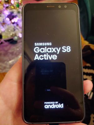 AT&T CRICKET Samsung galaxy S8 Active for Sale in Stockton, CA