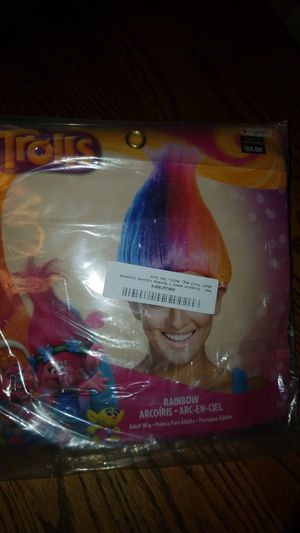 Trolls wig for Sale in Seattle, WA