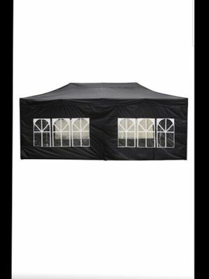20x10' Commercial EZ Pop Up Canopy Tent Outdoor Bussiness Fair Instant Shelter for Sale in Lakewood, CA