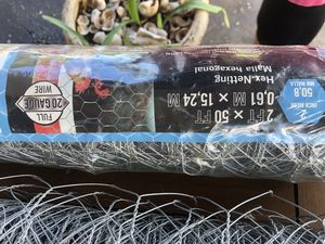 Chicken wire- approx 75 feet ~ all new never used for Sale in Palm Beach Gardens, FL