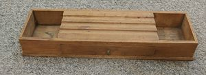 Antique MCM Wooden Desk Caddy for Sale in Glen Raven, NC