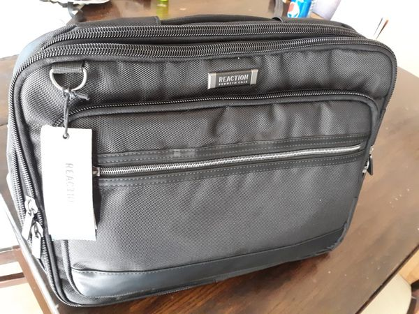 """Kenneth Cole Reaction Poly Double Gusset 15.6"""" Computer Convertible Backpack"""