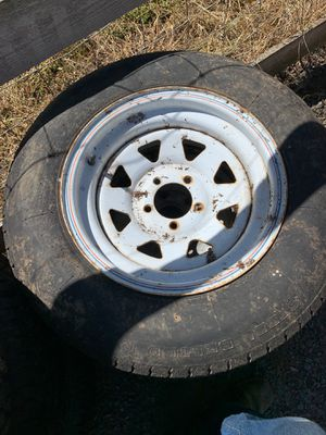 Trailer tire trailer wheel for Sale in Canby, OR