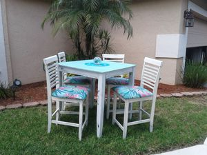 Counter Table and 4 chairs for Sale in Coconut Creek, FL