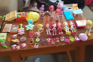Strawberry Shortcake dolls ect price is for all for Sale in Virginia Beach, VA